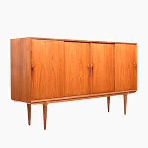 Danish Model 19 Teak Sideboard from Omann Jun, 1960s