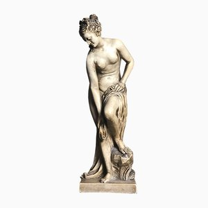 Art Nouveau Plaster Female Statue from Susse Frères