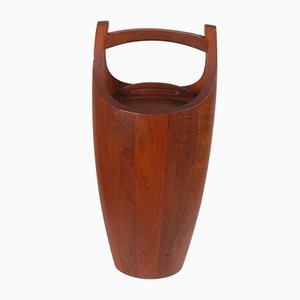 Danish Teak Ice Bucket by Jens Quistgaard, 1960s