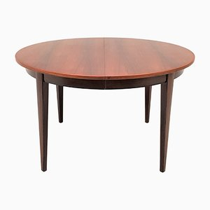 Danish Model 55 Mahogany & Rosewood Dining Table by Gunni Omann for Omann Jun, 1960s