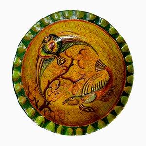 Dekorativer Teller von Montopoli GF