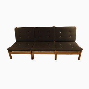 Dänische modulare Sessel von Poul Volther für FDB, 1978, 3er Set