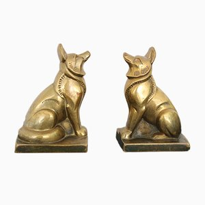Art Deco Bookends by Louis Fontinelle, 1930s, Set of 2