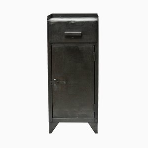 Vintage Industrial Steel Cabinet, 1930s
