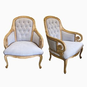Vintage Armchairs, 1920s, Set of 2