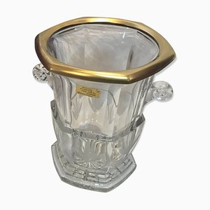 Antique Crystal Champagne Bucket