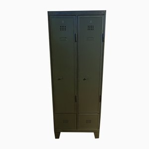 Vintage Industrial German Locker Cabinet, 1950s