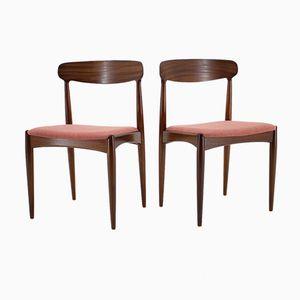 Danish Teak Dining Chairs by Johannes Andersen, 1960s, Set of 4