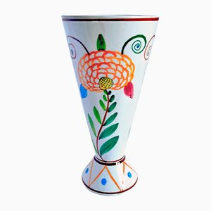 Mid-Century Italian Ceramic Vase from Titano