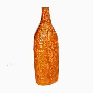 Mid-Century Italian Ceramic Vase by Cesare Sartori