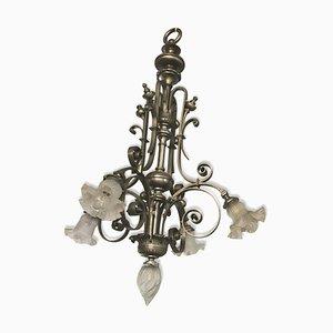 Antiker Kronleuchter im Napoleon III Stil