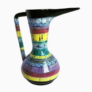 Vase Mid-Century en Céramique par Otello Rosa pour San Polo, Italie