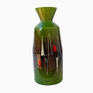 Mid-Century Italian Ceramic Vase by Otello Rosa for San Polo