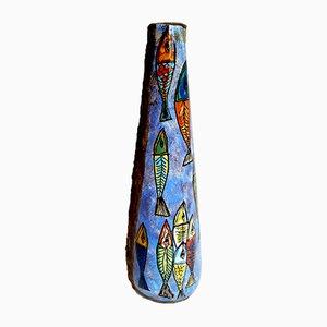 Vaso Mid-Century in ceramica di Sam Repubblica di San Marino, Italia