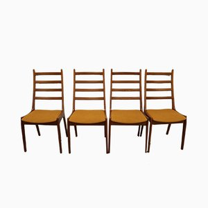 Danish Teak Dining Chairs from Korup Stolefabrik, 1960s, Set of 4