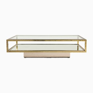 French Coffee Table by Maison Charles, 1970s