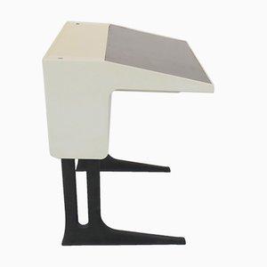 Deutscher Schreibtisch aus Plastik & Pagholz von Luigi Colani für Flötotto, 1970er