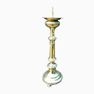 Antiker Kerzenhalter aus Messing