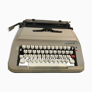 Model 319 Typewriter from Underwood, 1970s