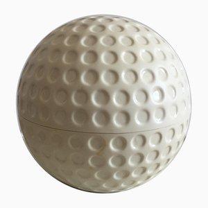 Seau à Glace Balle de Golf en Plastique de LFR Création, 1970s