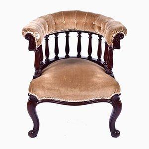 Antiker Armlehnstuhl aus Mahagoni