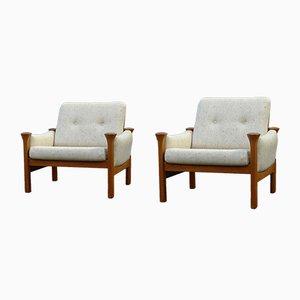 Dänische Modell 162 Sessel von Arne Vodder für Cado, 1970er, 2er Set