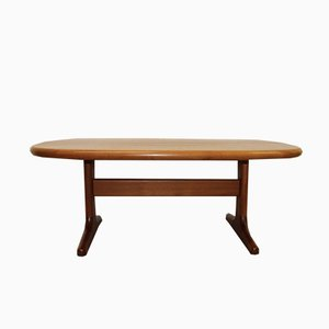 Teak Coffee Table by Niels Bach for Glostrup, 1970s