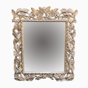 18th-Century Italian Silver-Plated Mirror