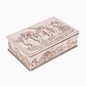 Antique Silver-Plated Box