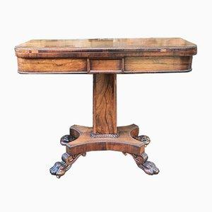 Table de Jeux Antique en Palissandre