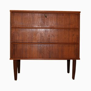 Small Danish Teak Commode, 1960s