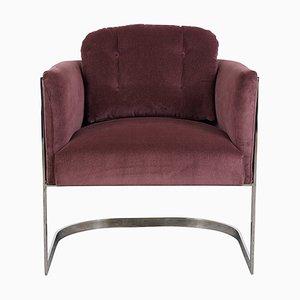 Chrome Lounge Chair by Milo Baughman, 1960s