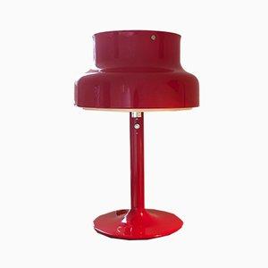 Lampe de Bureau Rouge par Anders Pehrson pour Ateljé Lyktan, 1960s