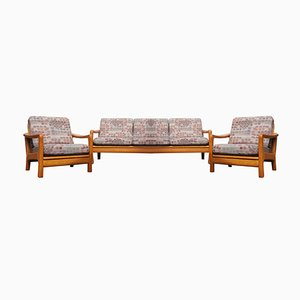 Scandinavian Modern Teak Lounge Set from Juul Kristensen, 1980s