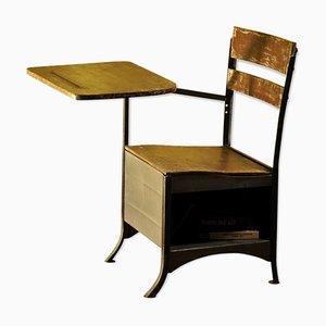 Industrieller amerikanischer Schreibtisch, 1960er