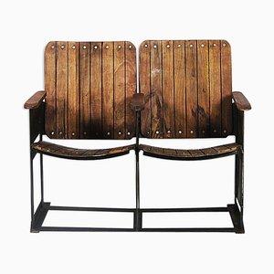 Seduta da teatro a due posti, anni '80