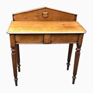 Table Console Antique en Chêne