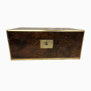 Large Walnut Correspondence Compartment by Parkins & Gotto