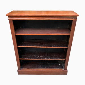 Small Antique Walnut Veneered Bookcase