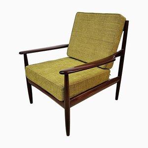 Vintage Danish Teak Armchair by Grete Jalk, 1968