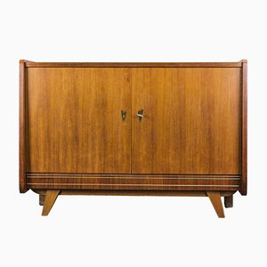 Vintage German Walnut Sideboard, 1970s