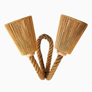 Mid-Century Rope Sconce, 1950s