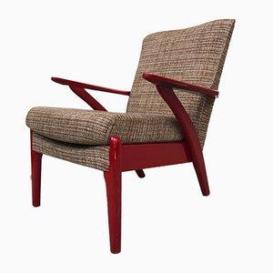 Mid-Century 900/6 Armlehnstuhl aus Buche von Parker Knoll, 1950er