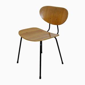 Sedie da pranzo nr. 145 moderne di Kurt Nordstrøm per Knoll International, Scandinavia, anni '50, set di 4