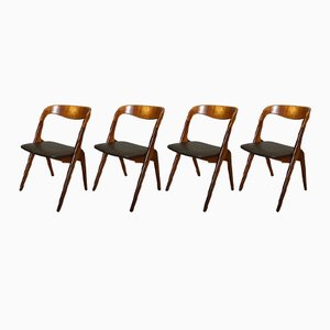 Customizable Sonja Dining Chairs by Johannes Andersen for Vamø, Set of 4