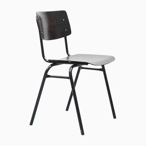 Mid-Century Black Pagwood Dining Chair from Ahrend De Cirkel, 1960s