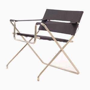 Chaise Pliante Wassily Vintage par Mart Stam & Marcel Breuer pour Tecta