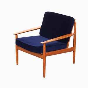 Danish Lounge Chair by Grete Jalk, 1970s
