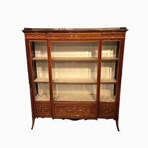Antique Mahogany Cabinet by Edwards & Roberts