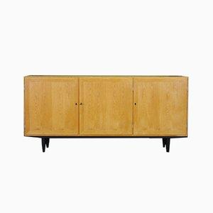 Dänisches Sideboard aus Eschenfurnier von Carlo Jensen für Hundevad & Co., 1960er